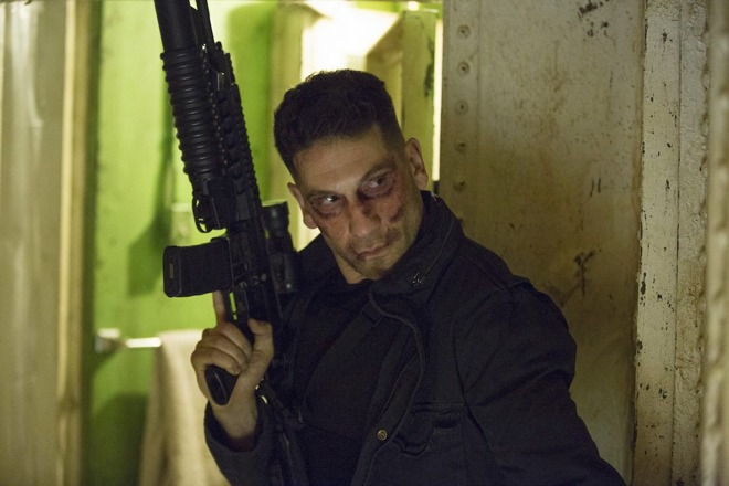 One of Netflix's more popular shows, The Punisher.