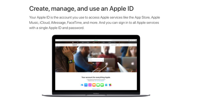 Your Apple ID is central to everything you do on a Mac