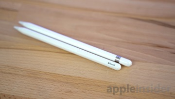 The original Apple Pencil is slightly longer than the newer model