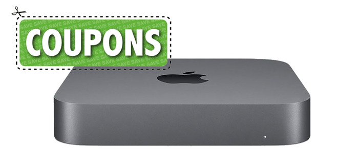 Apple 2018 Mac mini with coupon badge