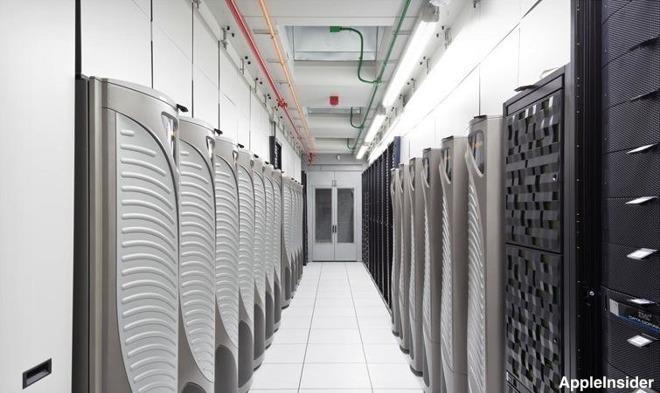 Inside an Apple data center