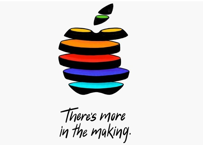 One of the many, many different invitations Apple sent for its October 30 2018 event