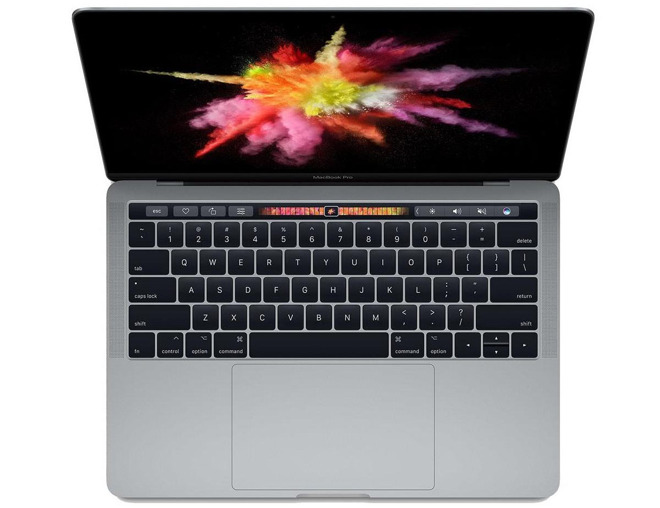 Apple 13 inch MacBook Pro with TouchBar