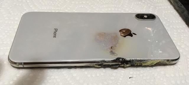 Rear of exploded iPhone XS Max (credit: Josh Hillard and iDrop News)