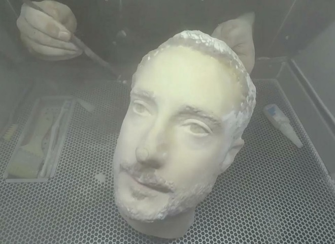 Forbes 3D-prints a head to test phone facial recognition