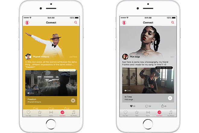 Apple Music's Connect feature is closing down