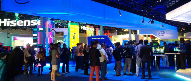 CES is packed with companies keen to show their new products.