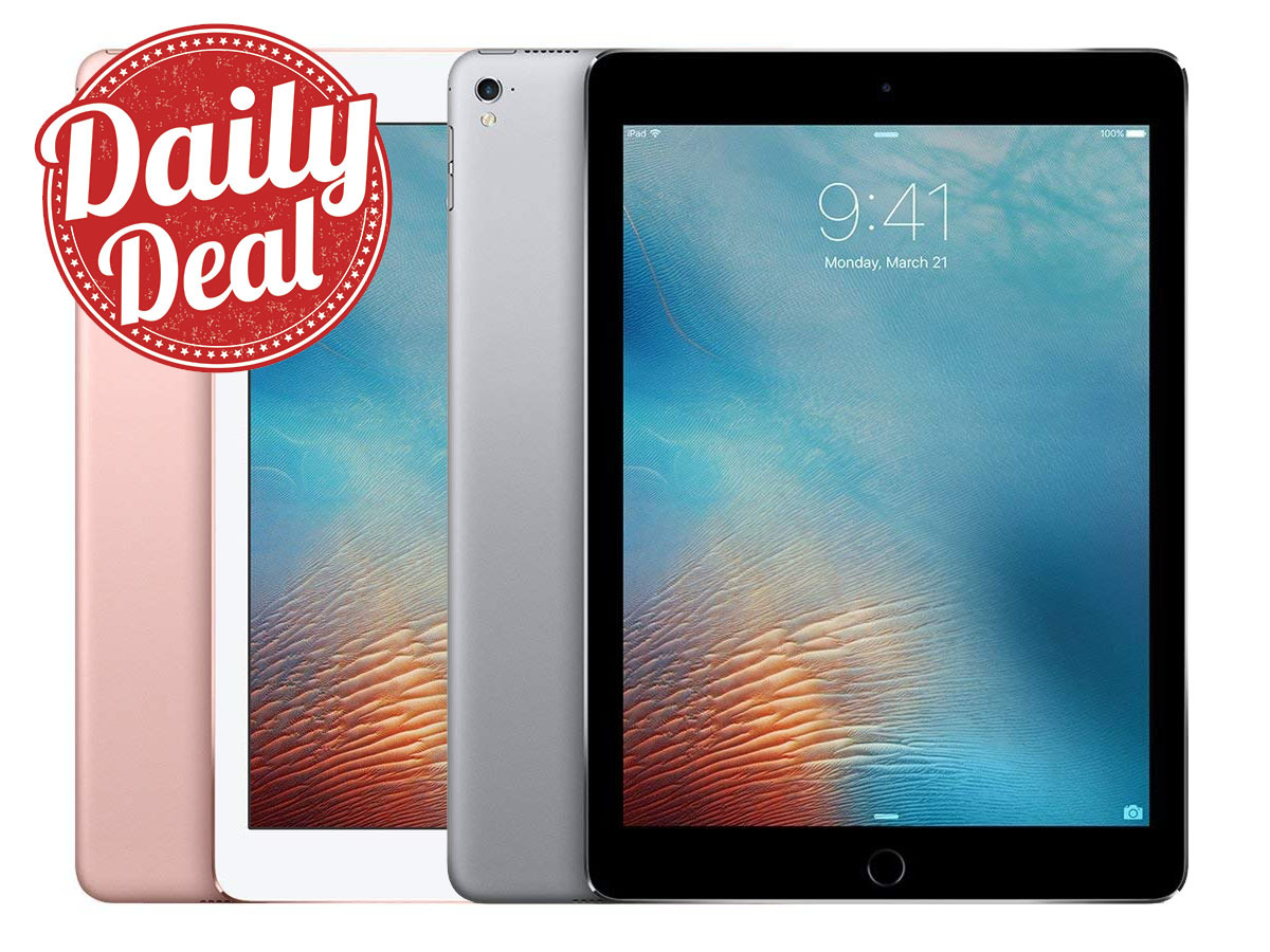 Today Only Apple S 9 7 Inch Ipad Pro With Upgrades On Sale From 299 Appleinsider