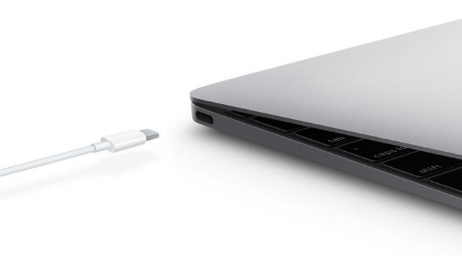 USB Type-C on a MacBook