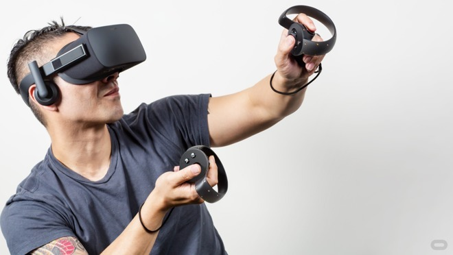 Oculus Rift with Touch controllers