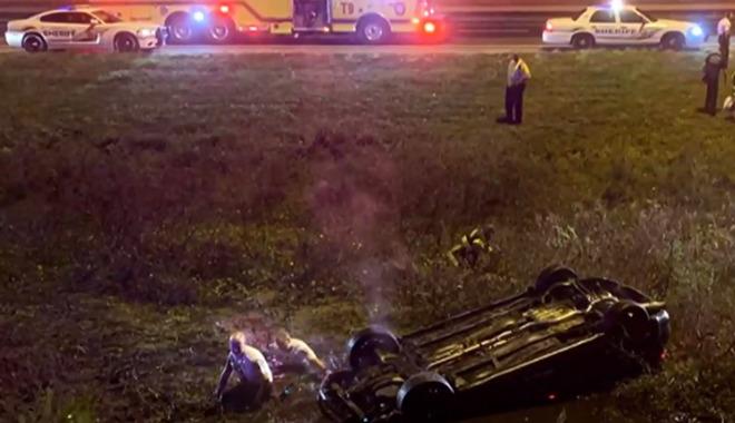 Tampa Florida car crash