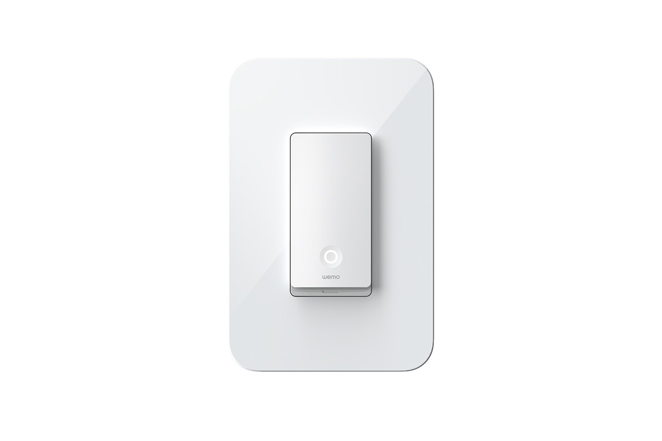 Wemo's HomeKit-enabled Light Switches
