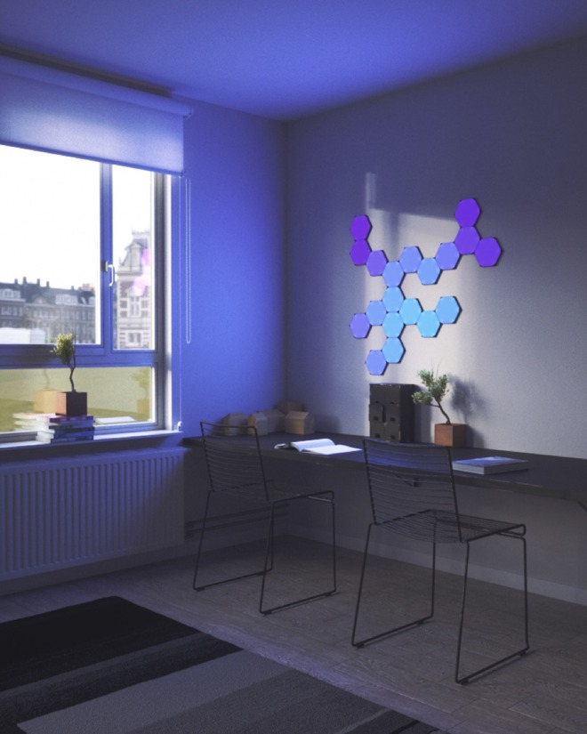 Nanoleaf Unveils New Hexagon Light Panels At Ces 2019