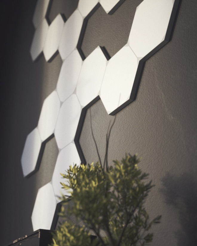Nanoleaf Hexagon light panels