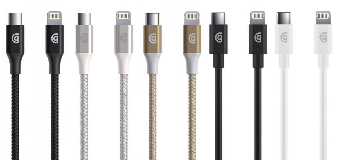 third party usb c lightning cables made official at ces by. Black Bedroom Furniture Sets. Home Design Ideas