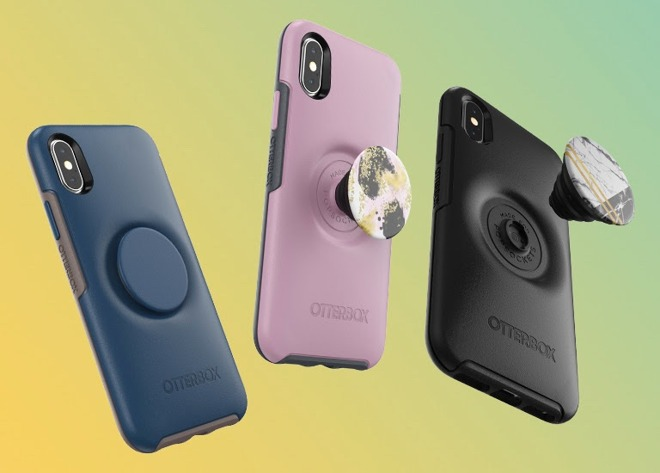 premium selection d58ed 89881 OtterBox and PopSockets collaborate on iPhone case, LifeProof ships ...