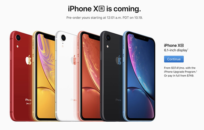 4a7017c3be4 The WSJ calling the iPhone XR a failure that  can t sell  is ...