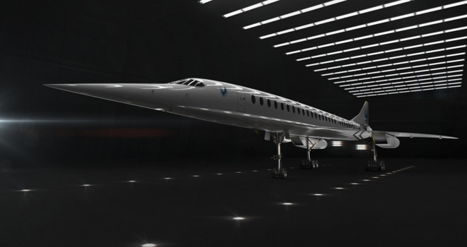 Overture, Boom Supersonic's project to create a commercially-viable supersonic aircraft