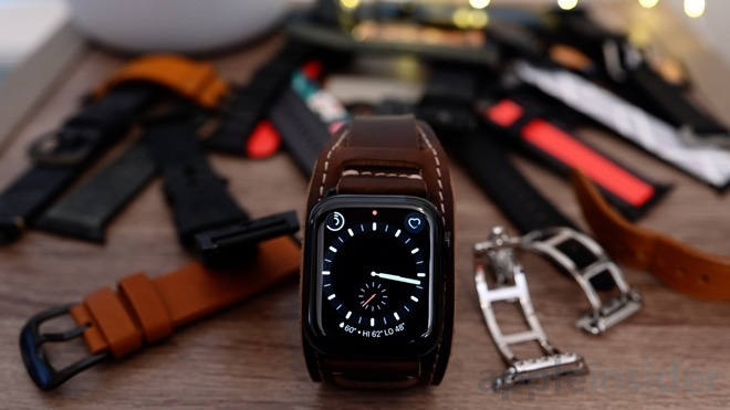A selection of Apple Watch bands