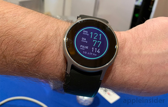 Omron HeartGuide packs blood pressure monitor into a
