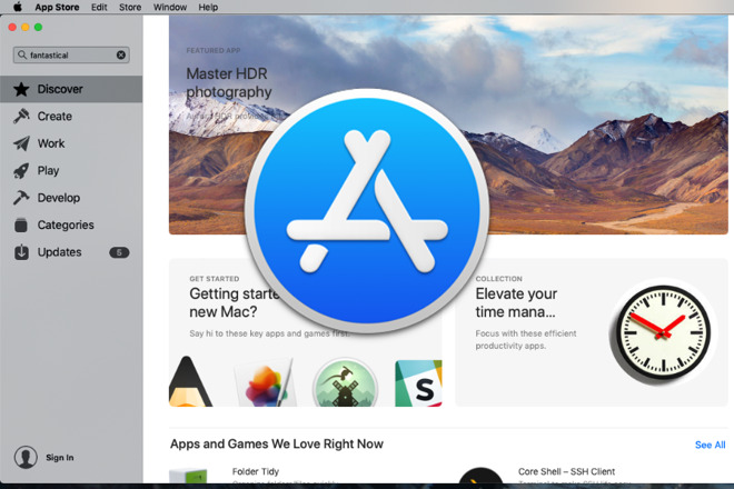 How to stop the Mac App Store from saying you have no previous purchases