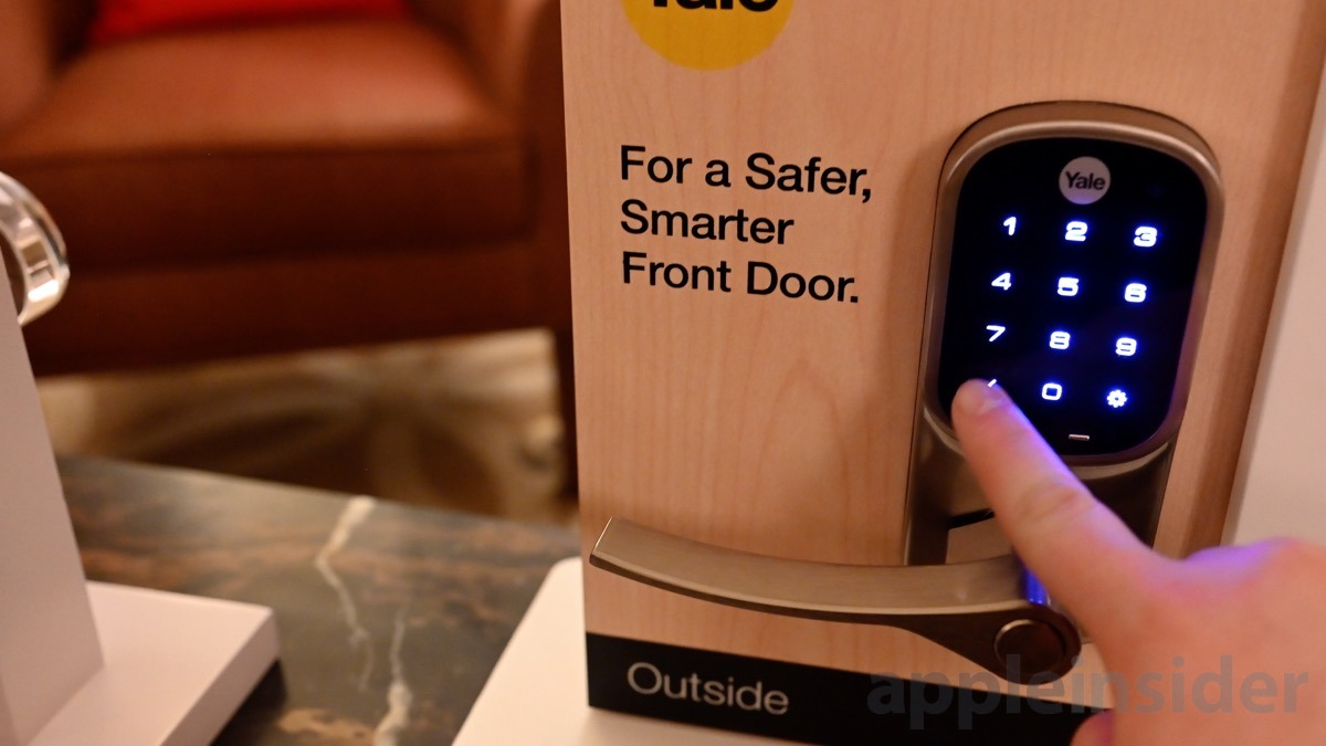 photo image Hands on with the Connected by August Yale Assure HomeKit smart lock