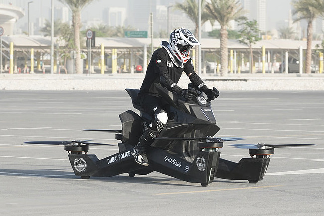 A flying Hoverbike (Source: Hoversurf)
