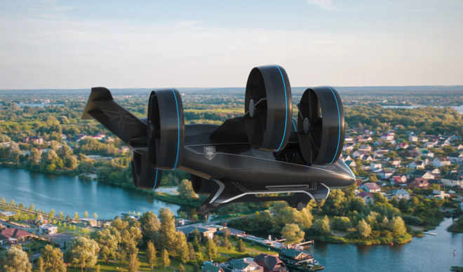 Bell Nexus flying taxi (Source: Bell)