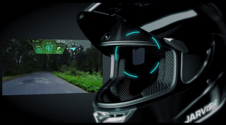 Definitely Street Hawk. This is a Jarvish XAR visor with heads-up display (Source: Jarvish)