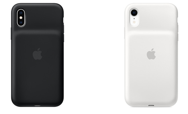 iPhone XS Max and XR Smart Battery Cases