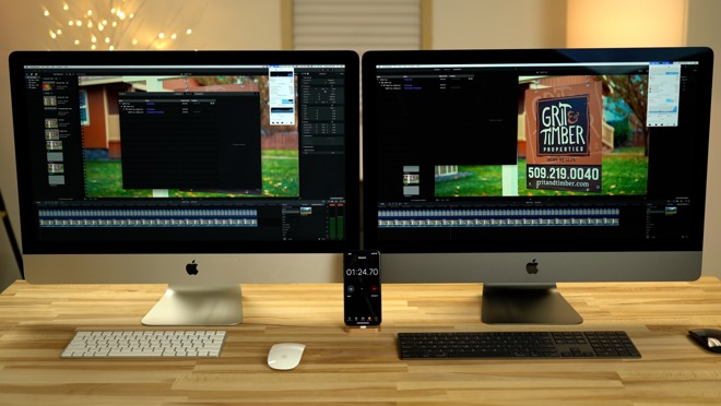 After a year, the iMac Pro benefits from better performance