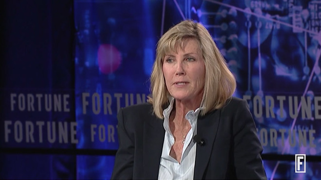 Apple VP Jennifer Bailey at the Fortune Brainstorm Reinvent conference in September