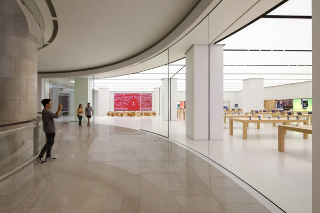 Apple's Taipei 101 store is considered part of China on its website, but not in Apple Maps.