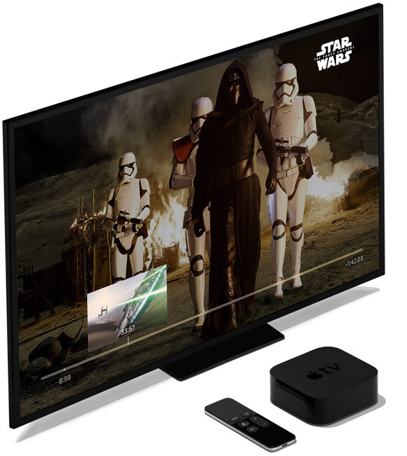 Star Wars on Apple TV