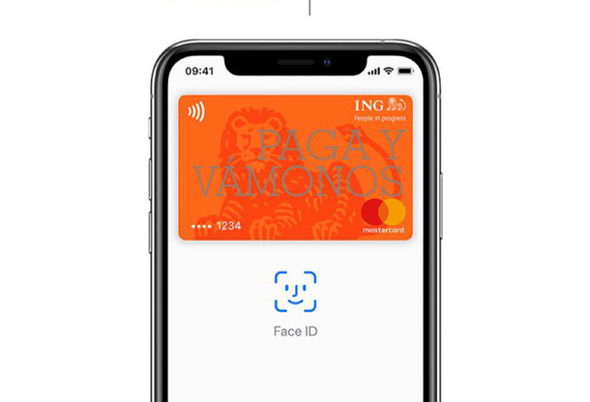 Apple Pay ING Spain