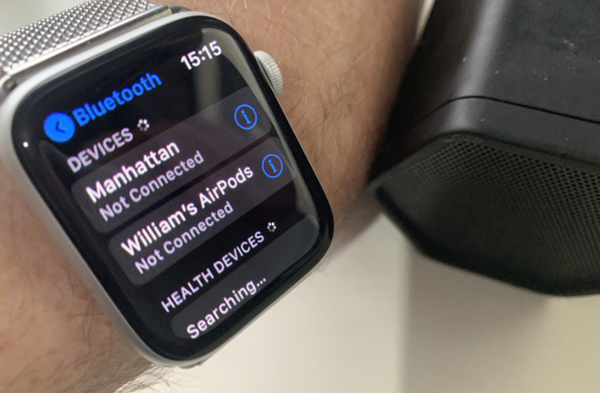 How to play music from your Apple Watch on speakers and wireless