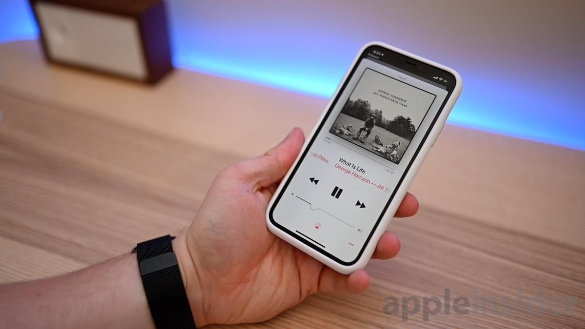 iPhone X speaker test
