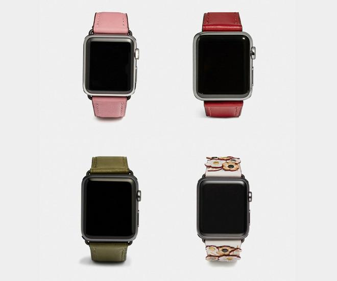 Coach Apple Watch bands