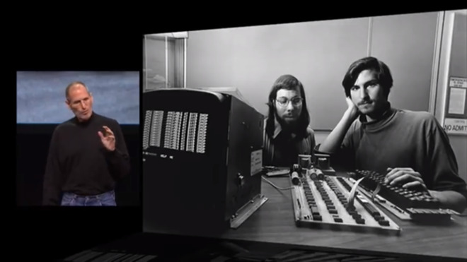 Steve Jobs recalls forming Apple with Steve Wozniak