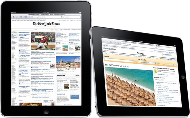 Look at the bezels on the original iPad