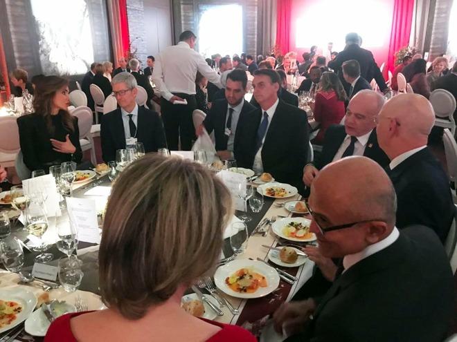 Tim Cook at Davos