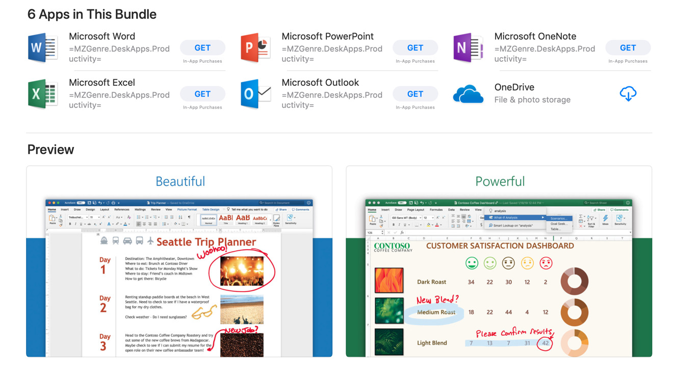 Microsoft Office 365 Arrives On The Mac