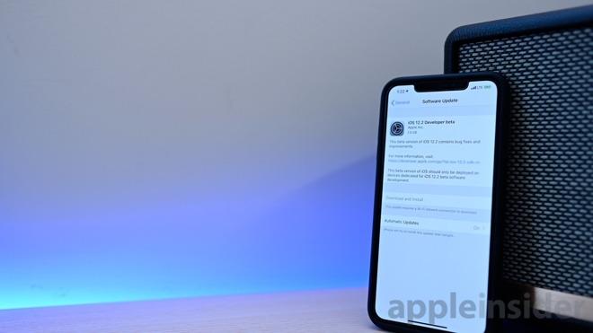 iOS 12.2 beta 1