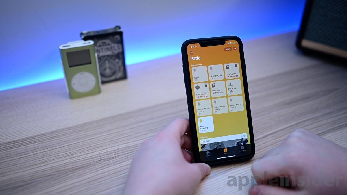 iOS 12.2 Home app