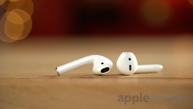 Apple's current version of the AirPods.