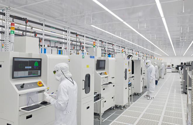Finisar's manufacturing plant in Texas