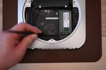 The logic board is able to be slid out at this point