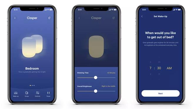 Casper Glow iPhone app