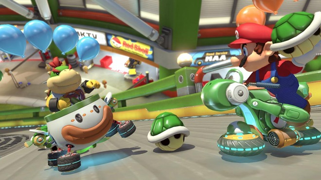 Nintendo's Mario Kart Tour for iPhone jumps off track