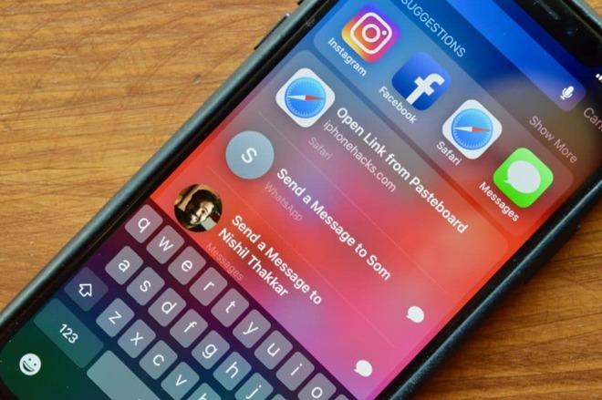 iOS 12 Spotlight and Siri suggestions
